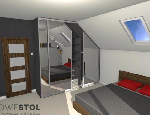 Wizualizacje sypialni
