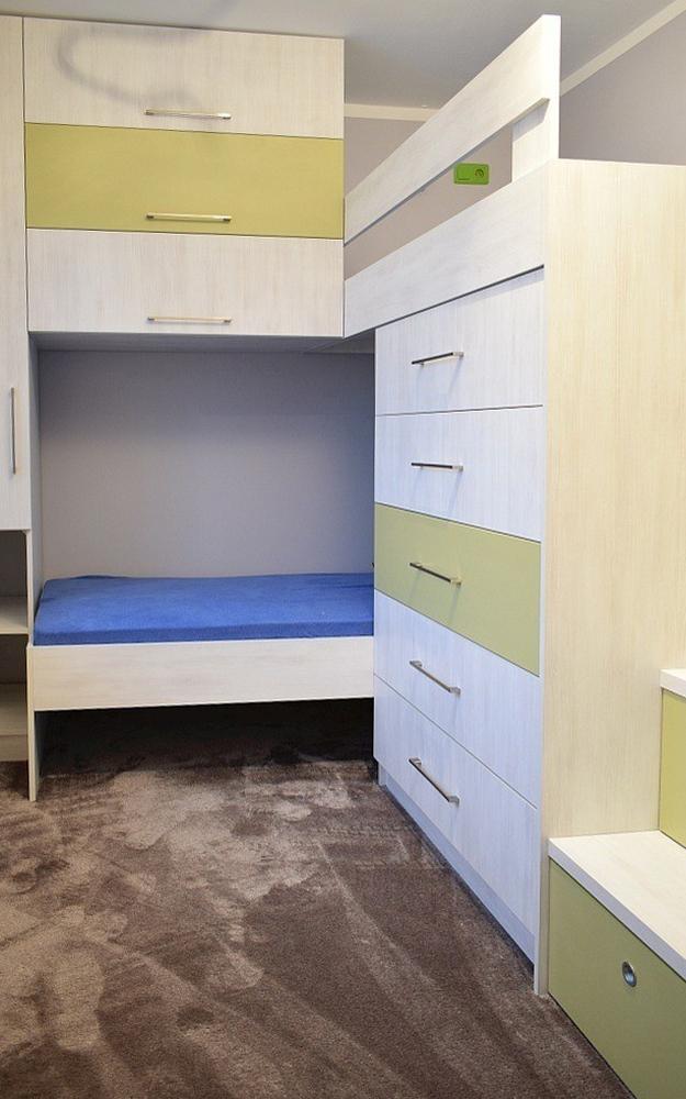 Wielofunkcyjne łóżko Piętrowe Nowestol Meble Na Wymiar