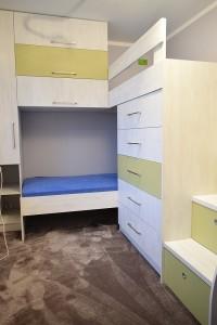 Wielofunkcyjne łóżko piętrowe 1
